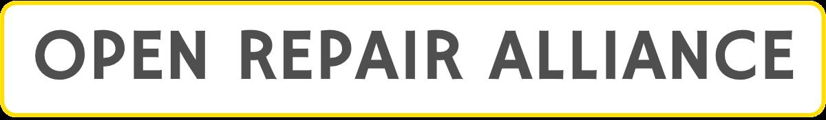 Open Repair Alliance logo